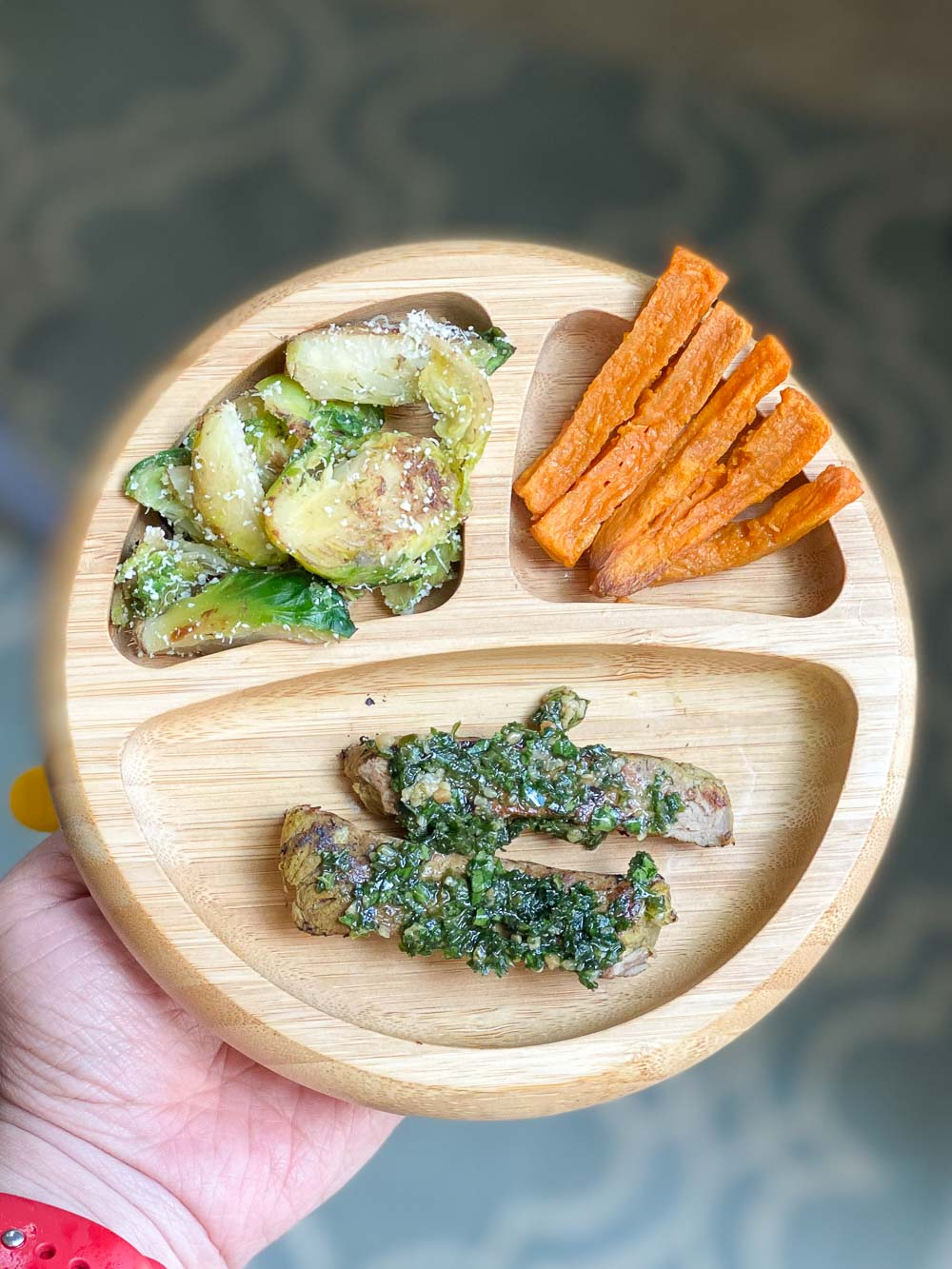 Homemade chimichurri sauce meets a grilled steak recipe is a match made in heaven, arguably one of the best meals for babies!